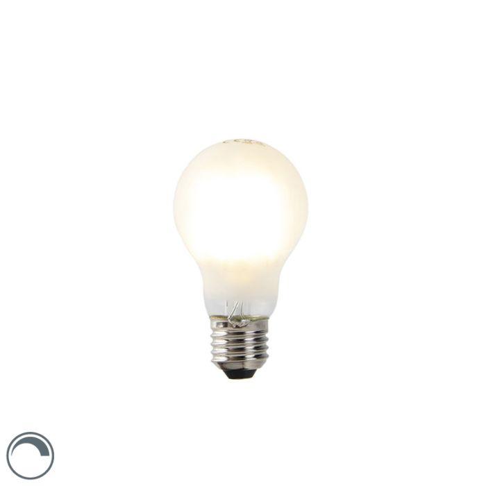 Bombilla-E27-filamento-LED-regulable-A60-translúcida-7W-806lm-2700K