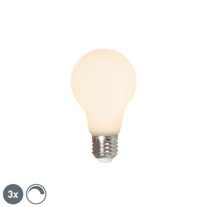 Se-3-bombillas-LED-E27-240V-4W-380lm-regulable