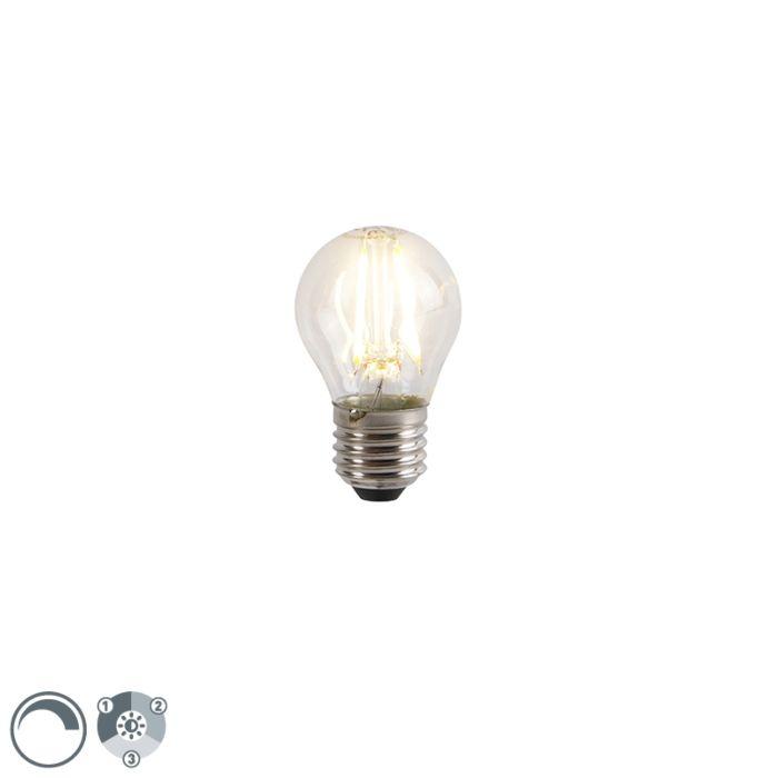 Bombilla-LED-E27-P45-regulable-3-pasos-5W-2700K