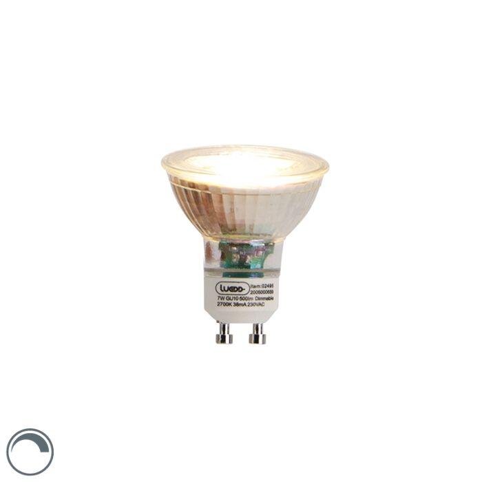 Bombilla-LED-GU10-regulable-7W-2700K