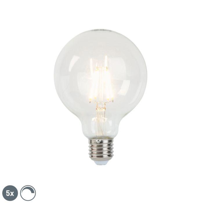 Set-de-5-bombillas-filamento-LED-regulables-E27-G95-5W-470-lm-2700K