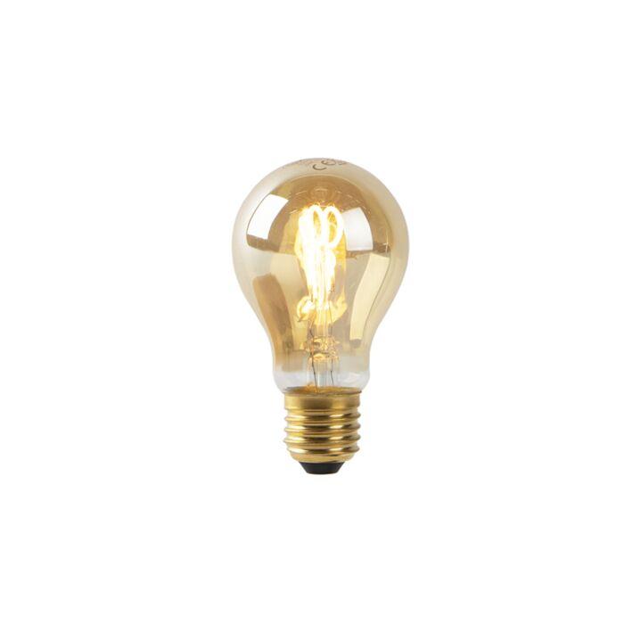 Bombilla-E27-LED-filamento-espiral-dorado-A60-2W-90lm-2200K