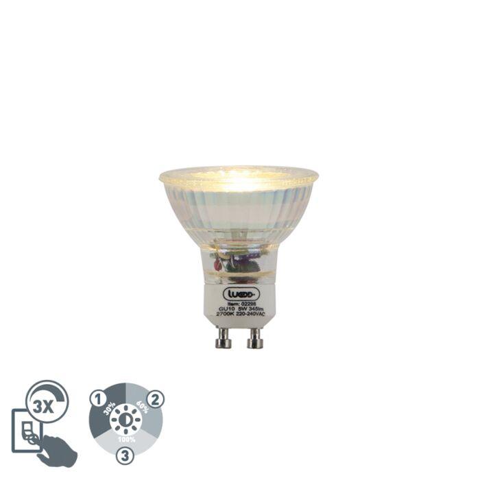 Bombilla-LED-regulable-GU10-3-estados-regulable-5W-345lm-2700K