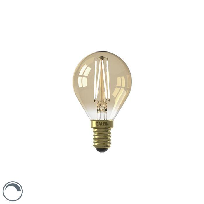 Bombilla-LED-regulable-E14-P45-goldline-3.5W-200lm-2100K