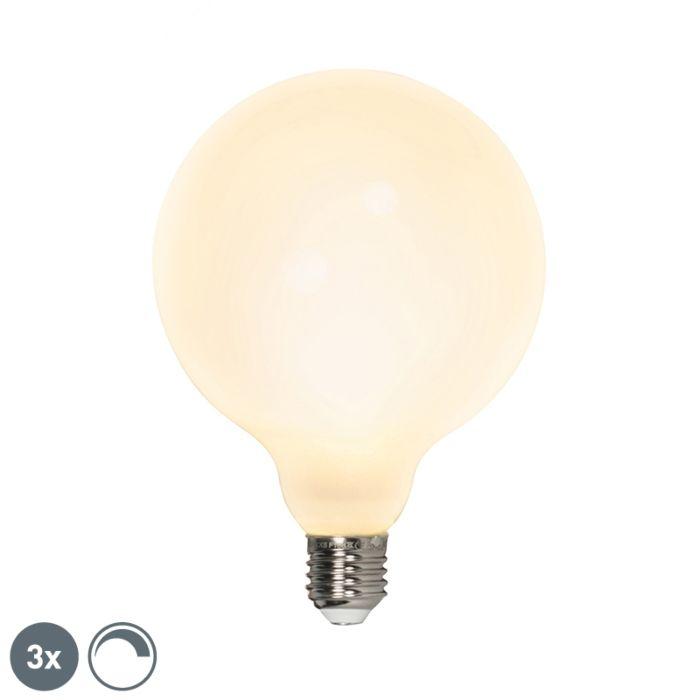 Set-3-bombillas-LED-G125-E27-240V-8W-900lm-regulables