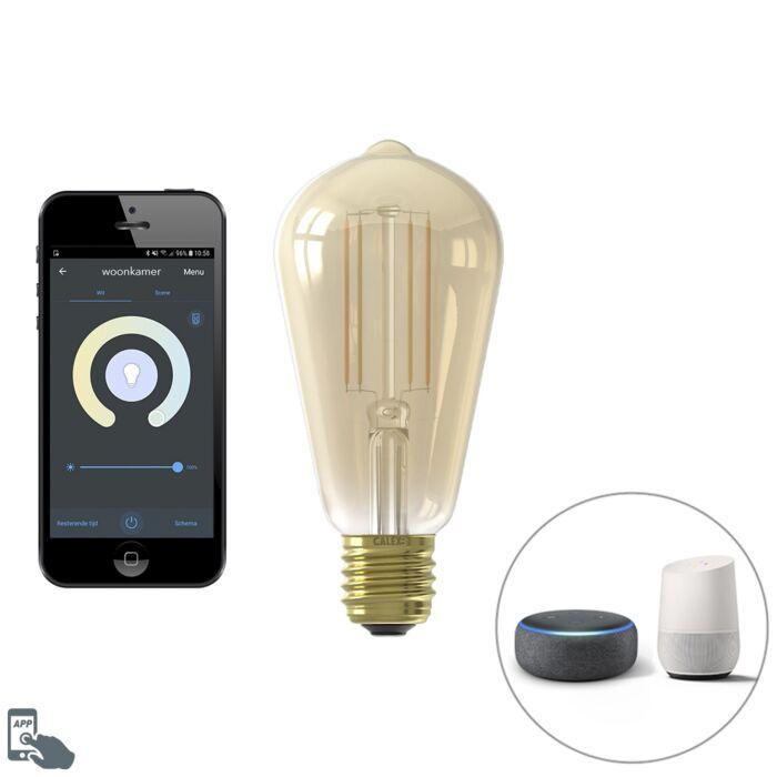 Bombilla-filamento-LED-Smart-E27-ST64-7W-806lm-1800-3000K