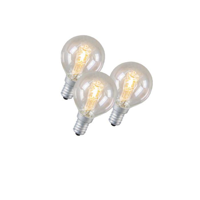 Set-de-3-bombillas-halógenas-de-ahorro-de-energía-E14-42W