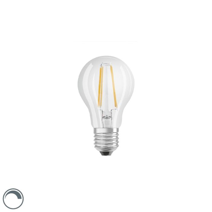 Bombilla-LED-E27-regulable-A60-filamento-transparente-7W-806lm-2700K