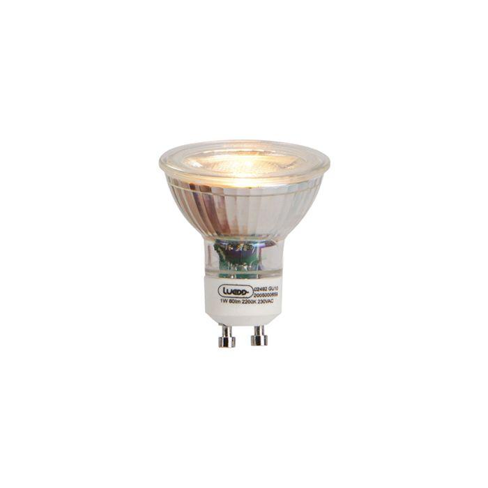Bombilla-LED-GU10-1W-80lm-2200K-Llama