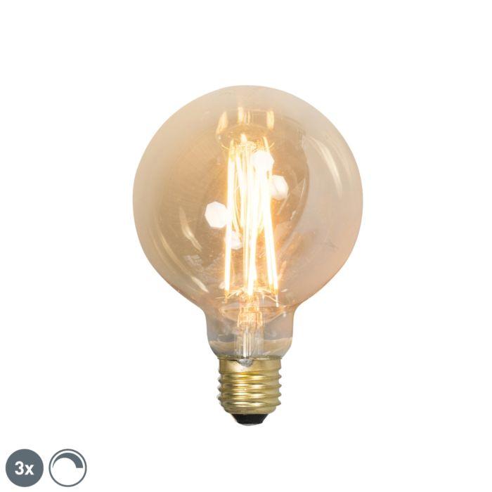 Set-de-3-bombillas-LED-E27-2100K-globo-filamento-regulable