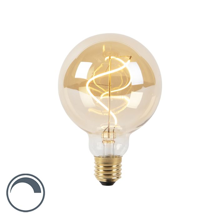 Bombilla-filamento-espiral-LED-regulable-E27-G95-goldline-200lm-2100K
