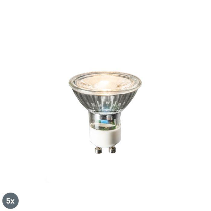 Set-de-5-bombillas-LED-GU10-COB-3W-230lm-2700K