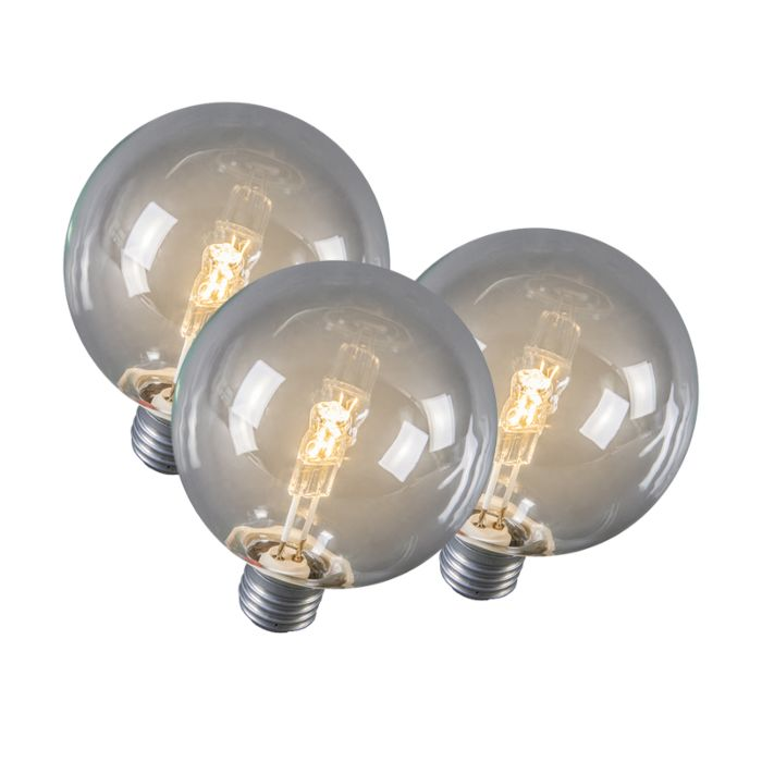 Set-de-3-bombillas-globo-halógena-E27-95mm-28W