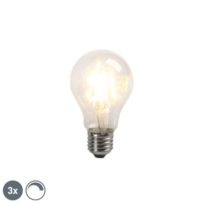 Set-de-3-bombillas-LED-de-filamento-E27-4W-390lm-regulables
