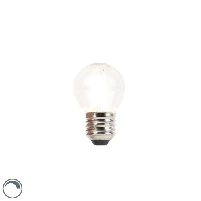 Bombilla-LED-E27-regulable-bola-incandescente-3W-250lm-2700K