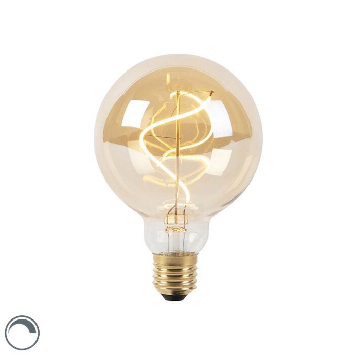 Bombilla-filamento-espiral-LED-regulable-E27-G95-goldline-200lm-2100K