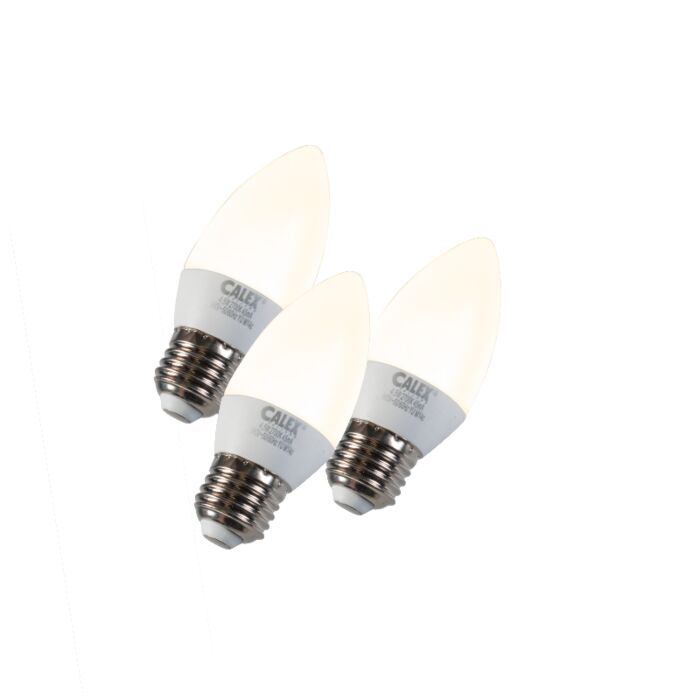 Set-de-3-bombillas-vela-LED-E27-5W-240V-2700K-regulable