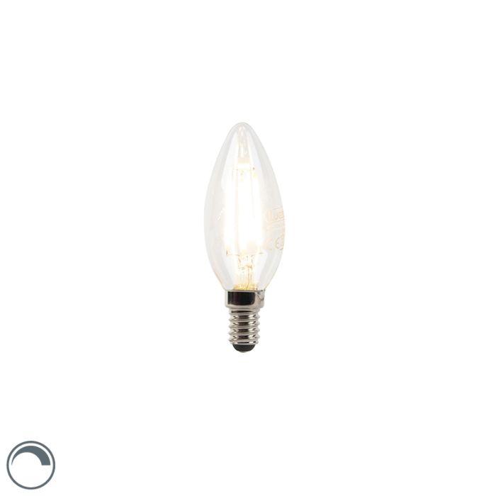 Bombilla-vela-filamento-LED-regulable-E14-B35-3W-240lm-2700K