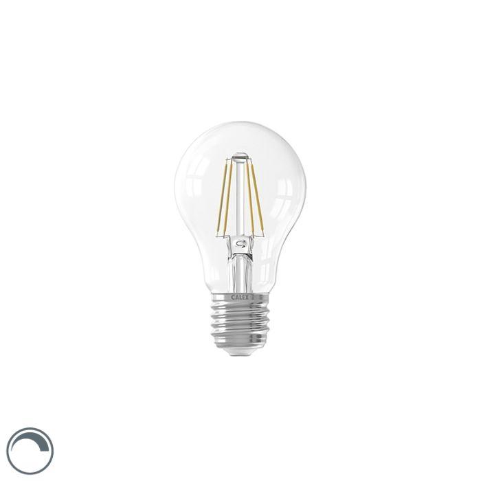 Bombilla-LED-E27-regulable-A60-filamento-transparente-7W-810lm-2700K