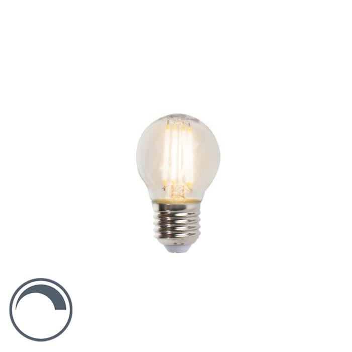 Bombilla-LED-E27-5W-470lm-regulable-bola