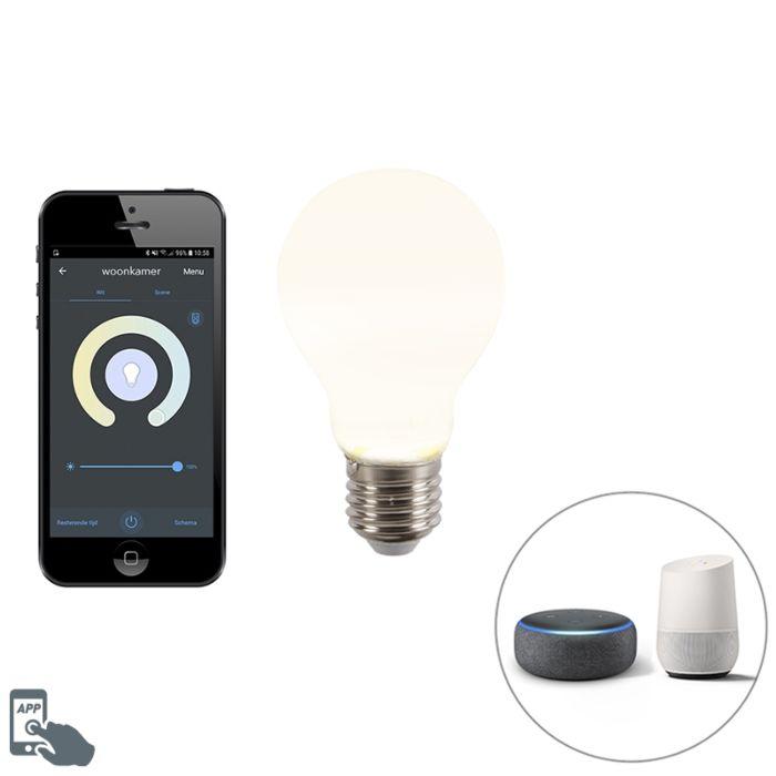 Bombilla-LED-regulable-Smart-app-E27-806lm-A60-CALEX-2200-4000K