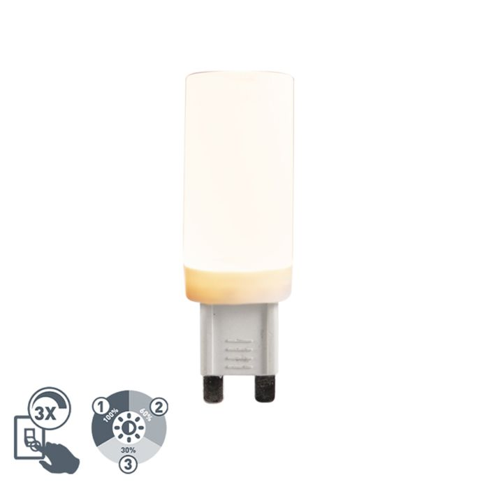 Bombilla-LED-G9-regulable-3-estados-4,5W-500lm-2700K