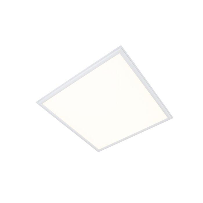 Plafón-LED-panel-29W-3600-lm-blanco-cálido-3000K-cuadrado