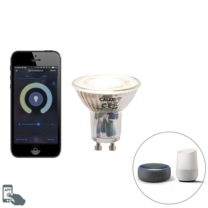 Bombilla-LED-regulable-GU10-WiFi-Smart-app-5W-380lm-2200-4000K