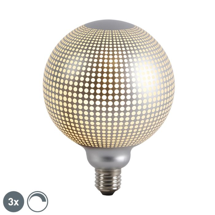 Set-de-3-bombillas-LED-globo-E27-regulables-DECO-4W-240lm-2700K