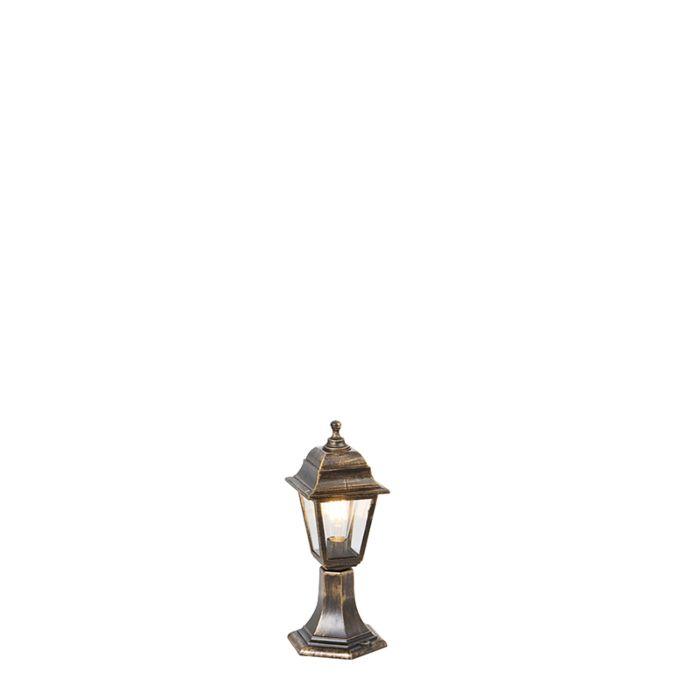 Baliza-clásica-dorada-44cm-IP44---CAPITAL