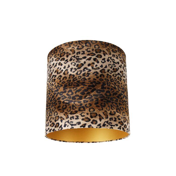 Pantalla-terciopelo-diseño-leopardo-40/40/40-interior-dorado