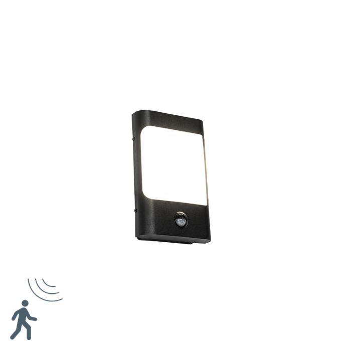 Aplique-negro-sensor-movimiento-LED-IP44---KHUVAN