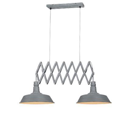 Lámpara-colgante-industrial-acero-ancho-ajustable-2-luces---MANCIS