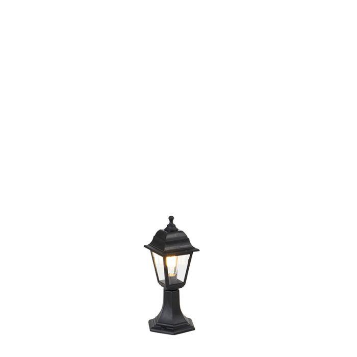 Baliza-clásico-negro-44cm-IP44---CAPITAL