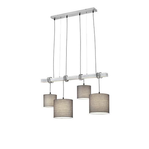 Lámpara-colgante-rústica-acero-4-luces---ARD