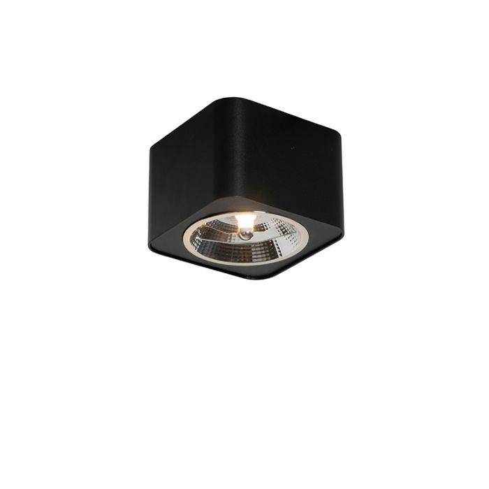 Foco-moderno-negro-12,5cm---BOXER-