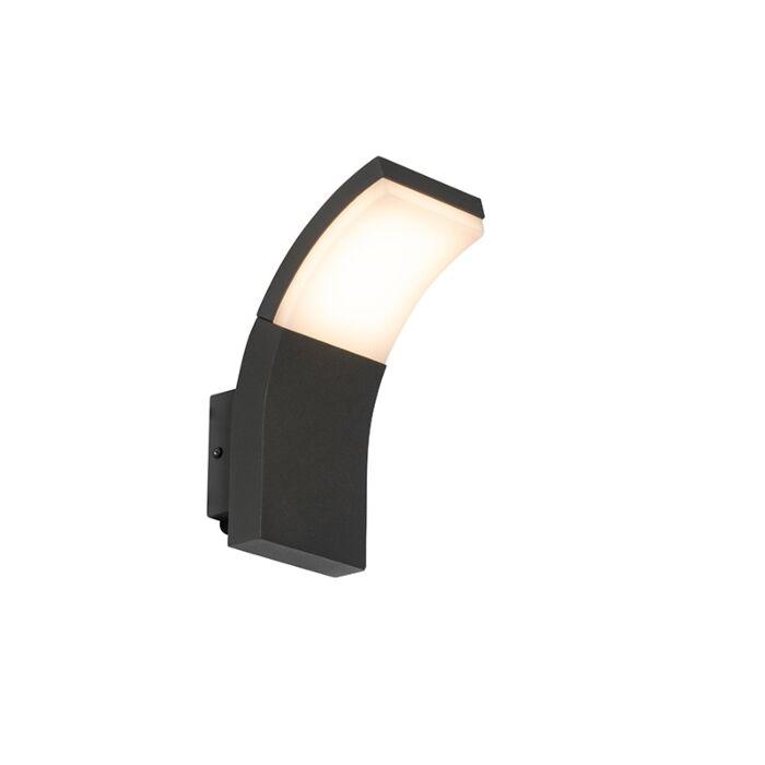 Aplique-exterior-moderno-antracita-LED-IP54---LITT