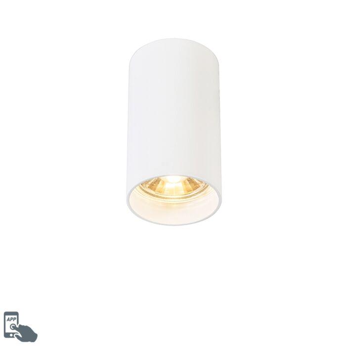 Foco-moderno-blanco-bombilla-WiFi-GU10---TUBA
