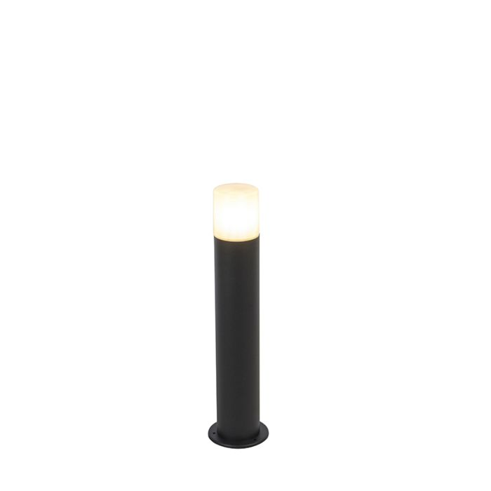 Baliza-negra-pantalla-blanco-translúcido-50cm---ODENSE