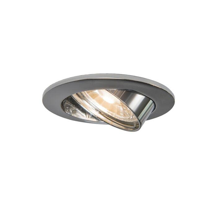 Foco-de-encastrar-orientable-acero-bombilla-Wifi-GU10---EDU