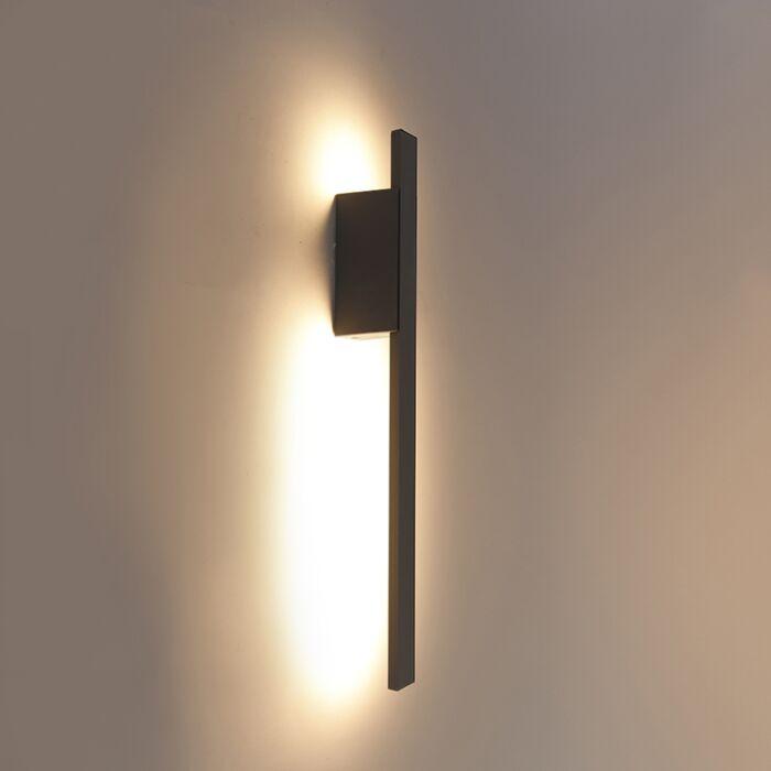 Aplique-de-pared-para-exterior-moderno-antracita-IP54-incl.-LED---Jamal