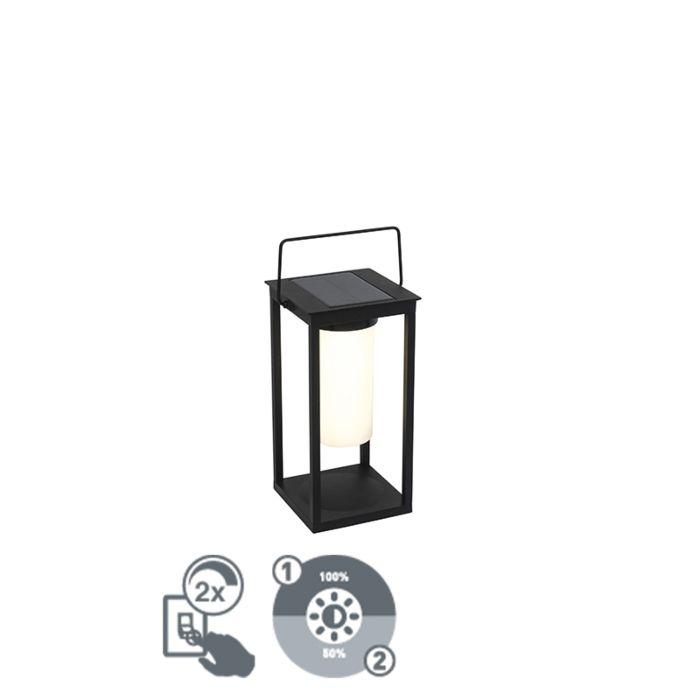 Lámpara-de-mesa-moderna-negra-regulador-solar-LED---DENLU