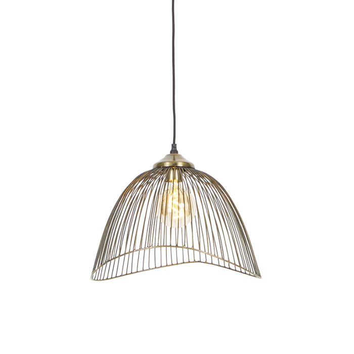 Lámpara-colgante-diseño-latón-39,8cm---PIA