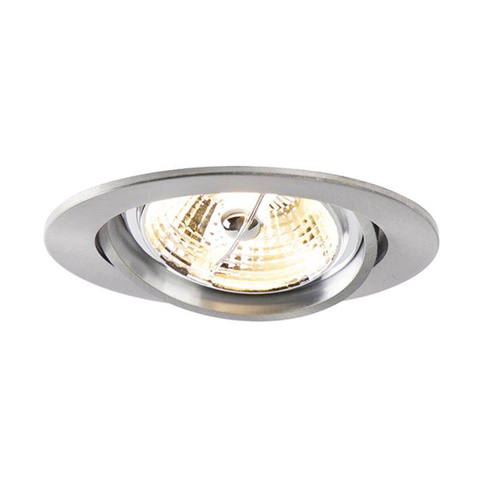 Moderne-ronde-inbouwspot-aluminium-AR70---Cisco
