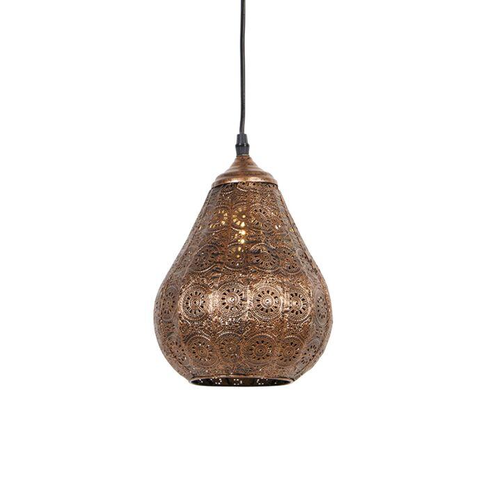 Lámpara-colgante-oriental-cobre---BILLA-Dia