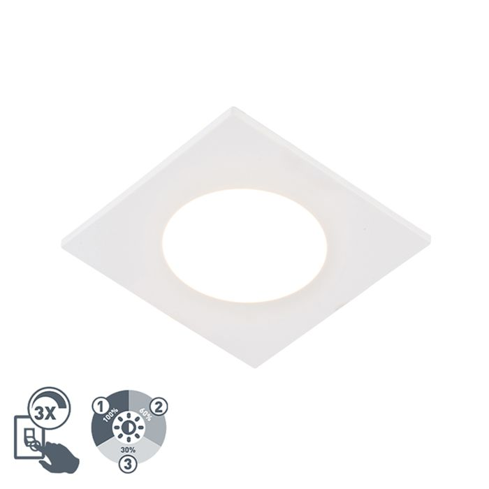 Foco-empotrado-moderno-blanco-regulable-3-estados-IP65-LED---SIMPLY