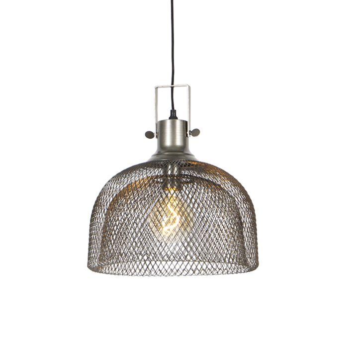 Lámpara-colgante-industrial-acero---ARTI-Wire
