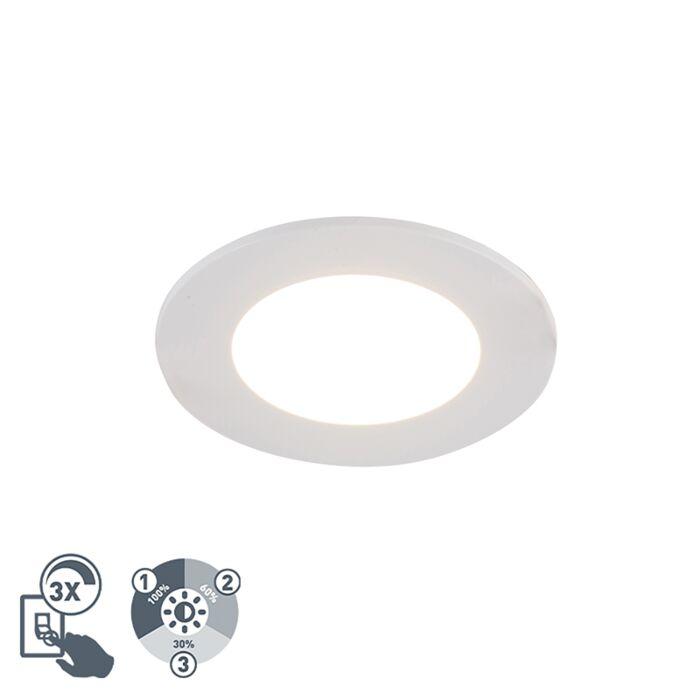 Foco-empotrado-blanco-regulable-3-niveles-IP65-LED---BLANCA