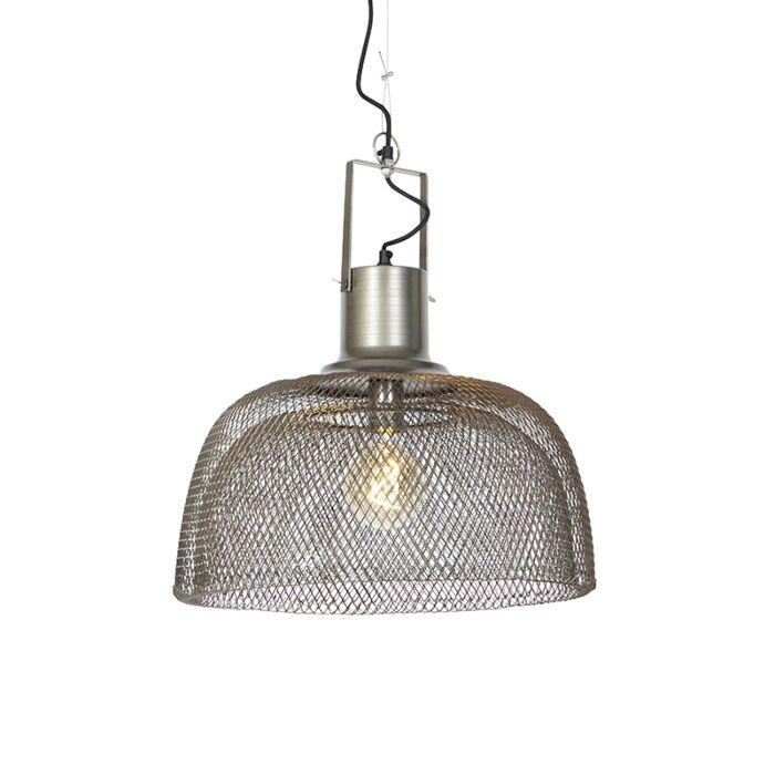 Lámpara-colgante-industrial-acero-48cm---ARTI-Wire