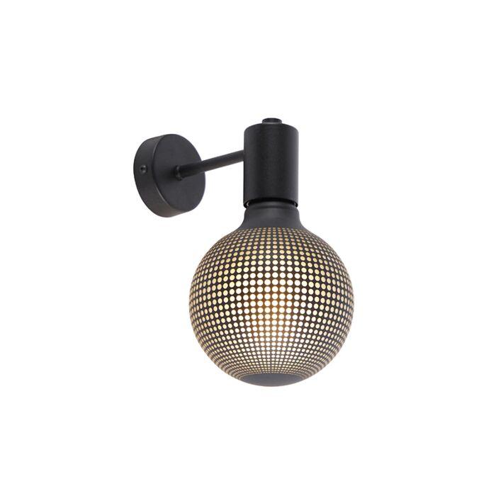 Aplique-industrial-negro-bombilla-G125-DECO-100lm---FACIL-1